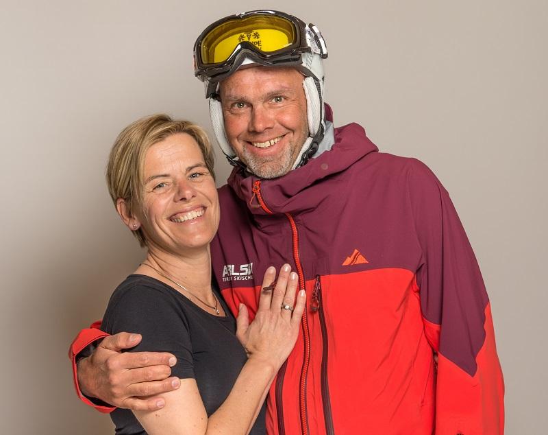 Stefanie und Bernhard einzigartig wie unsere Lodge
